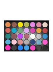 FC Beauty Eye Shadow Palette, 56.2gm, 35 D, Multicolour