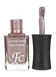 FC Beauty Crystal Sand Nail Polish, 10ml, 17, Brown