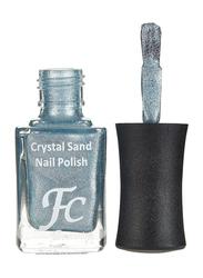 FC Beauty Crystal Sand Nail Polish, 10ml, 19, Blue