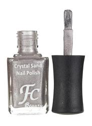 FC Beauty Crystal Sand Nail Polish, 10ml, 16, Silver