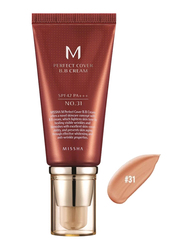 Missha M Perfect Cover SPF42/PA+++ BB Cream, 50ml, No.31 Golden Beige