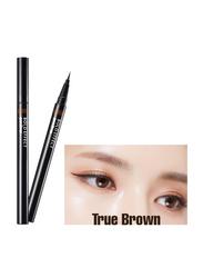 Missha Bold Effect Pen Eye Liner, 10gm, True Brown