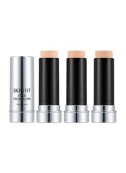 Missha Skin Fit Stick Foundation SPF50+/PA+++ Powder, 14gm, No.17, Beige