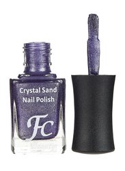 FC Beauty Crystal Sand Nail Polish, 10ml, 21, Purple