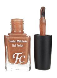 FC Beauty Golden Milk Shake Nail Polish, 10ml, 06, Gold