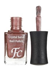 FC Beauty Crystal Sand Nail Polish, 10ml, 02, Brown
