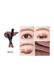 Missha Eye Fit Stick Shadow, 1.1gm, SBR02 Spice Wood, Brown