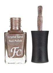 FC Beauty Crystal Sand Nail Polish, 10ml, 03, Brown