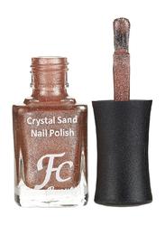 FC Beauty Crystal Sand Nail Polish, 10ml, 14, Brown