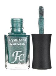 FC Beauty Crystal Sand Nail Polish, 10ml, 24, Green