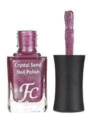 FC Beauty Crystal Sand Nail Polish, 10ml, 09, Purple