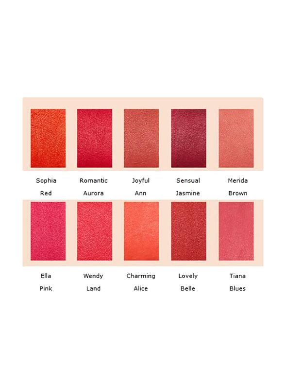 Missha Supreme Rouge Matt Lipstick, 4.1gm, Sensual Jasmine, Purple
