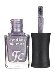 FC Beauty Crystal Sand Nail Polish, 10ml, 22, Purple