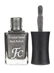 FC Beauty Crystal Sand Nail Polish, 10ml, 11, Silver