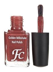 FC Beauty Golden Milk Shake Nail Polish, 10ml, 23, Red