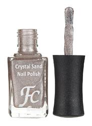 FC Beauty Crystal Sand Nail Polish, 10ml, 13, Brown