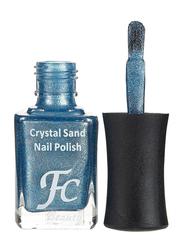 FC Beauty Crystal Sand Nail Polish, 10ml, 23, Blue