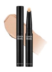 Missha Cover Prime Stick Concealer, 1.5gm, No.21, Beige