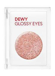 Missha Dewy Glossy Eyeshadow, 12gm, Pink Illusion, Beige