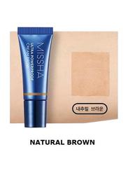 Missha Ultra Powerproof Cream Eye Brow Color, 6gm, Natural Brown