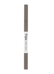 Missha Triple Brow Pencil, 0.22gm, Dark Brown