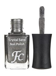 FC Beauty Crystal Sand Nail Polish, 10ml, 12, Silver