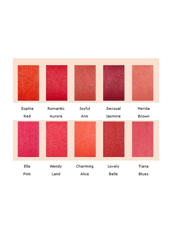 Missha Supreme Rouge Matt Lipstick, 4.1gm, Charming Alice, Orange