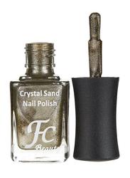 FC Beauty Crystal Sand Nail Polish, 10ml, 04, Gold