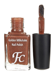FC Beauty Golden Milk Shake Nail Polish, 10ml, 22, Brown