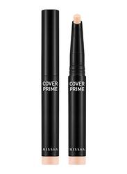 Missha Cover Prime Stick Concealer, 1.5gm, No.17, Beige