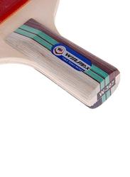 Winmax 3 Stars Table Tennis Racket, 15 x 16 cm, Multicolour