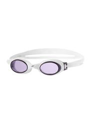 Speedo Rapide Swimming Goggles, Purple/White