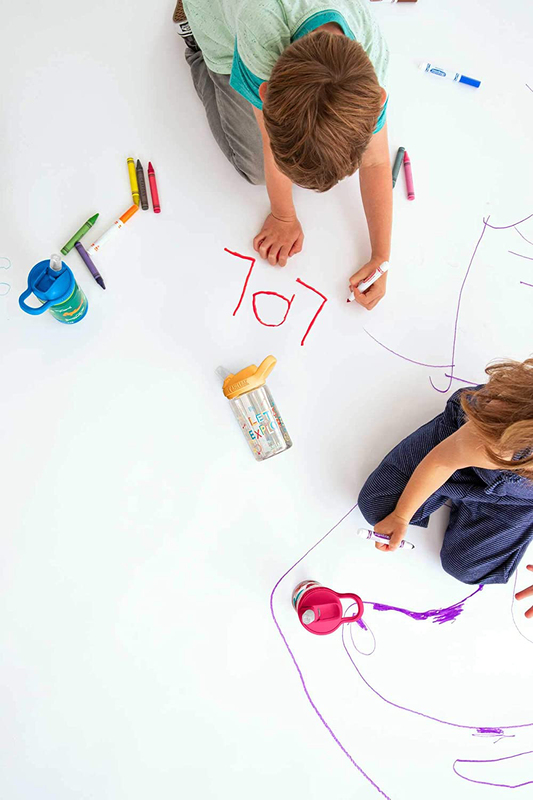 Camelbak 4 Piece Eddy+ Kids Bite Valve Water Bottle Accessory, Multicolour