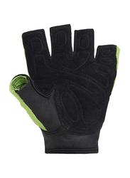 Sting Atomic Weight Lifting Gloves, Large, Green/Black