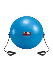 Body Sculpture Anti-Burst Gym Ball, 30 inch, Blue