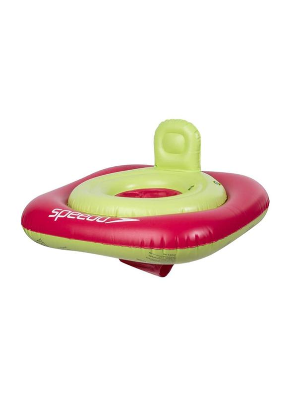 Speedo Seasquad Swim Seat Child Unisex, 0-12 Months, Pink/Green