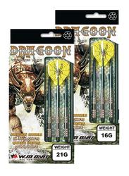 Winmax Tungsten Look Darts, GRAG00N, 18g, Multicolour