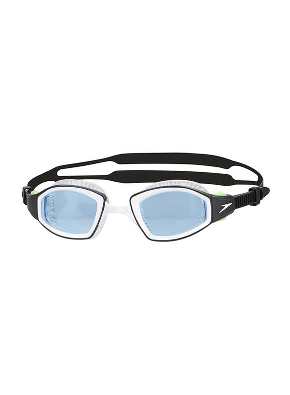 Speedo New Futura Biofuse Pro Swimming Goggles, Blue/Black