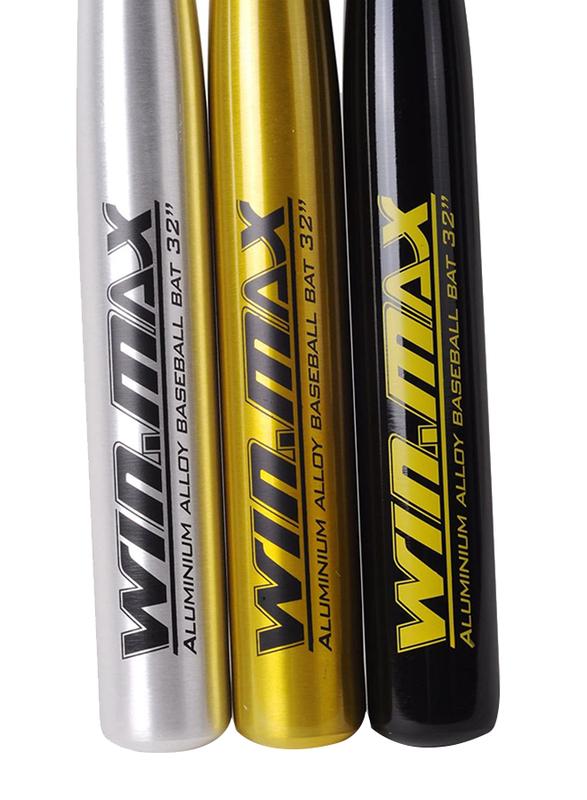 Winmax Baseball Bat, WMY51517J, 32 Inch, Golden