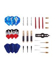 Professional Soft Steel Tip Darts Set with Gift Box Set for Bristle Dartboard, Multicolour