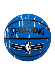 Spalding NBA Marble Series 4 Her Outdoor Basket Ball, 28.5 inch, Multicolour