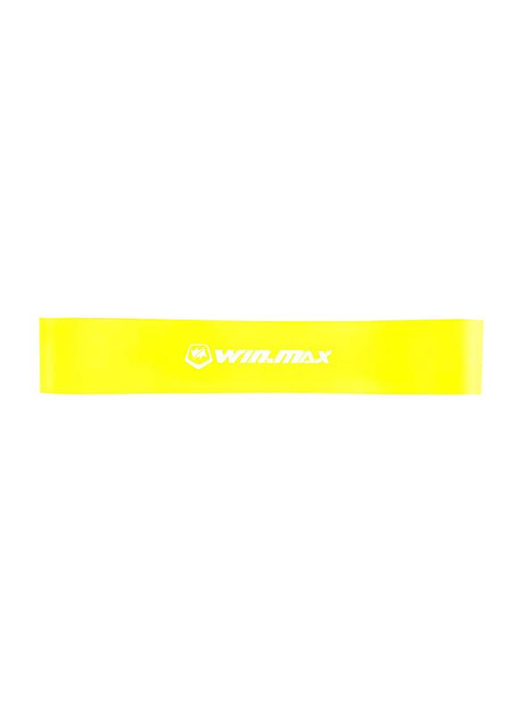 Winmax Latex Fitness Loop Band Set, WMF90141, Multicolour