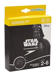 Speedo Star Wars Printed Inflatable Noodle, 2-6 Years, Black