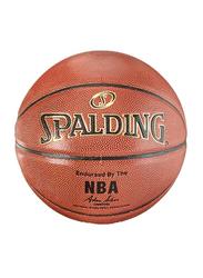 Spalding NBA Gold Series Basket Ball, Size 7, Orange