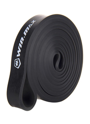 Winmax Resistance Single Bands for Pull-Up Assist & Powerlifting, WMF90097-21H, Black