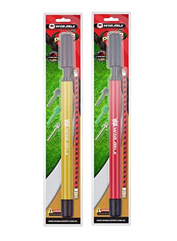 Winmax Ball Pump Set, MY17056A, Multicolour