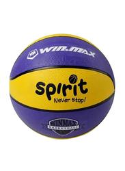 Winmax Rubber Basketball, Size 3, Multicolour
