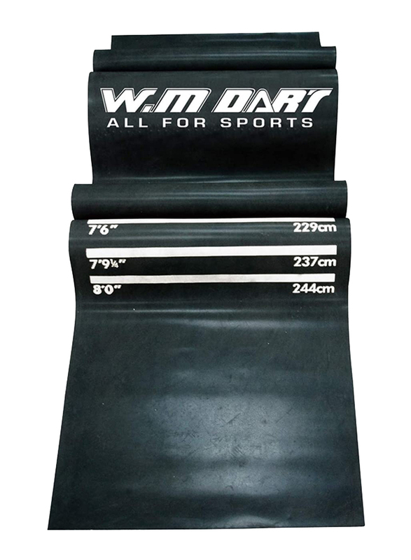 Winmax Dart Mat, WMG08764, 8.75kg, Black