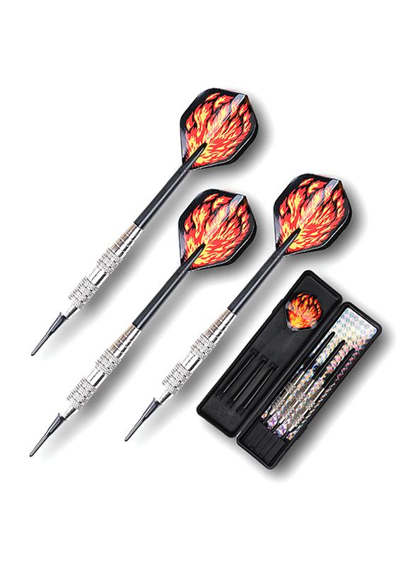 Winmax Silver Softtip Darts, 16gm, Multicolour