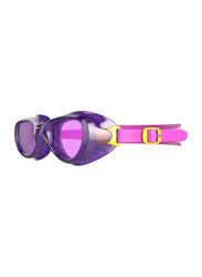 Speedo Futura Classic Junior Swimming Goggles, 8-10900b983, Ecstatic Pink/Violet Purple